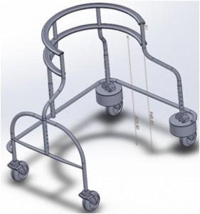 歩行器CAD